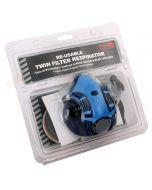 Blackrock Re-usable Twin Filter Respirator