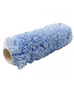 """3 x ProDec Long Pile Woven Polyamide Blue Roller Sleeves 9"""""""