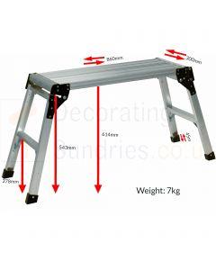 ProDec Aluminium Working Platform 800MM Diagram