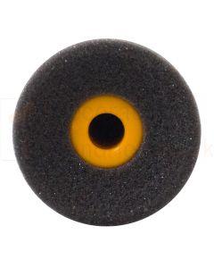 Concave Black High Density Foam Rollers