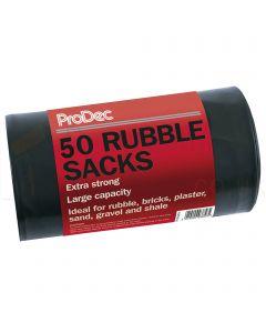 Prodec refuse sacks 50 pack