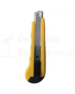 Nespoli Heavy Duty Yellow Snap Knife 18mm