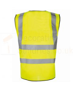 Hi Vis Vest yellow Front