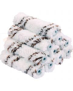 """Microfiber Mini Roller Refills 4"""" (10 Pack)"""