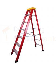 ProDec Fibreglass Step Ladders 6 Tread