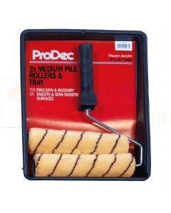 """ProDec Medium Pile Tiger Stripe Roller Set 9"""""""